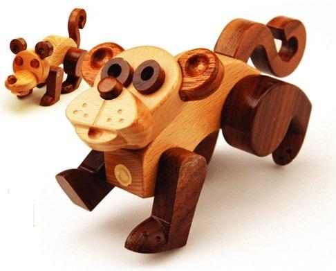 MyZoo Transforming Toy - Monkey