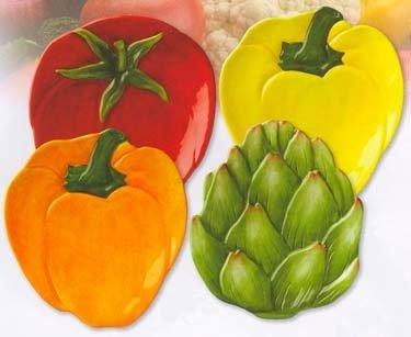 Buy Veggies Plate Set 07 722