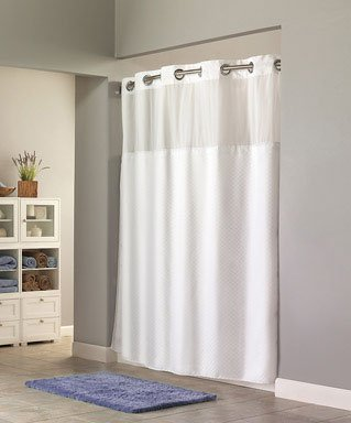 Small Door Window Curtains QVC Hookless Shower Curtains