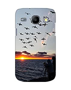 Mobifry Back case cover for Samsung Galaxy Core I8260 Mobile (Printed design)