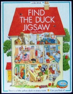 Find The Duck Jigsaw 24 Large Pieces - 1