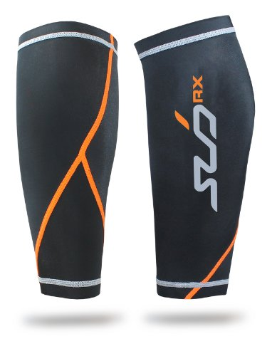 SUB RX Sports Men's Graduated Compression Baselayer Calf Guard (pair)