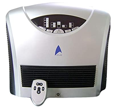 Ozonator Dual (Hepa and Active Carbon Filter) Air Purifier with UVC Lamp and Remote Control (D) 1 Year Warranty!