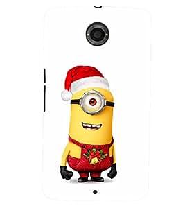 TOUCHNER (TN) Merry Minion 2 Back Case Cover for Motorola Google Nexus 6
