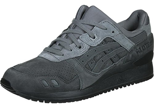 Asics - Gel Lyte III Platinum- Sneakers Uomo Dark Grey - US 12 - EUR 46.5 - CM 29.5