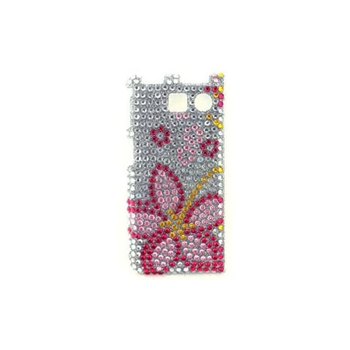 Icella FS SY6780 JF03 Pink Flower Snap On Cover for Sanyo