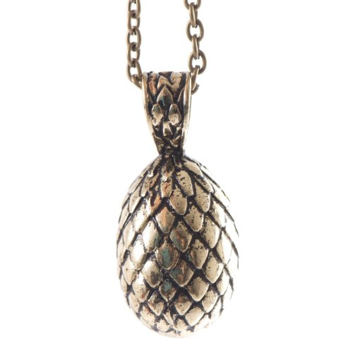 Inspired By Game of Thrones Dragon EGG Pendant Necklace Daenerys Targaryen GOT