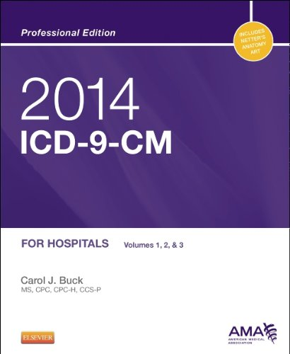 2014 Icd-9-Cm For Hospitals, Volumes 1, 2 And 3 Professional Edition, 1E (Saunders Icd 9 Cm)