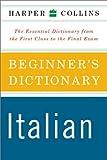 HarperCollins Beginner's Italian Dictionary