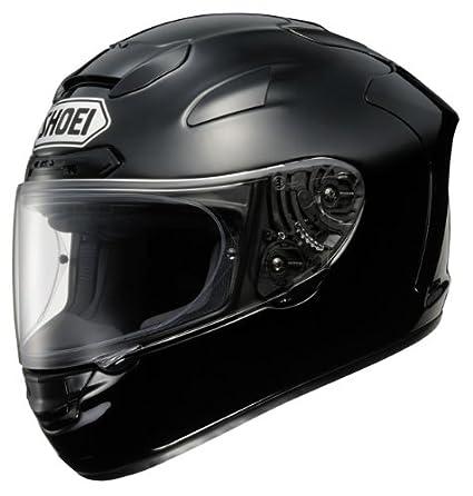 Nouveau casque de moto noir Plain de Shoei X-Spirit 2