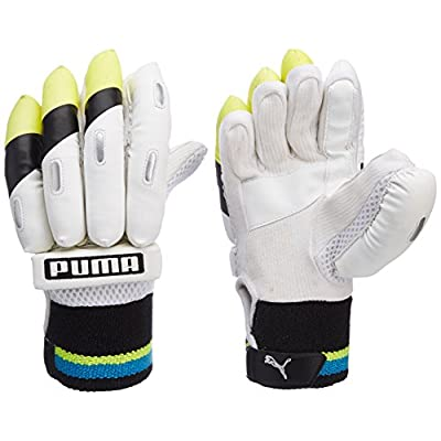 Puma Pulse 1700 Batting Gloves, Size boys RH (Yellow /Black)