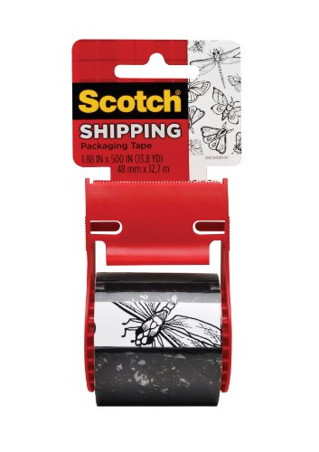 Scotch Decorative Shipping Packaging Tape, 1.88 x 500 Inches (Decorative Packaging compare prices)