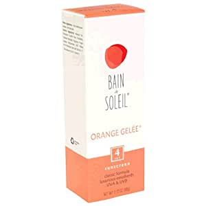 bain de soleil orange gelee sunscreen spf 4 tube pack of 2 beauty. Black Bedroom Furniture Sets. Home Design Ideas