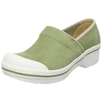 Dansko Women's Volley Hopsack Clog,Avocado,40 EU / 9.5-10 B(M) US