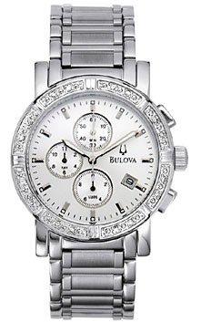 Bulova Men's 96E03 Diamond Accented Watch