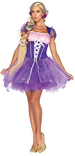 Rapunzel Adult Costume Lg Halloween Costume - Adult Large