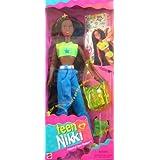 Teen Nikki Friend of Skipper! All Grown Up! Barbie Teen NIKKI AA Doll, Friend of Skipper All Grown Up w Fun Tattoos (1996) at Sears.com