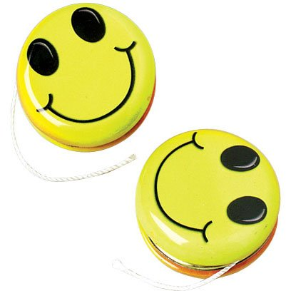 Smiley Face Yo-Yos - 1