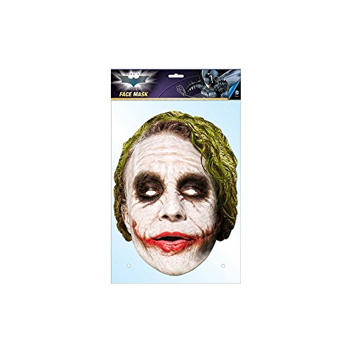 The Joker The Dark Knight Mask, Mask-arade Face Card Mask, Character Fancy Dress