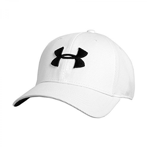 Under Armour Blitzing II Stretch Fit Cap Schirm-Mütze white-black - M-L