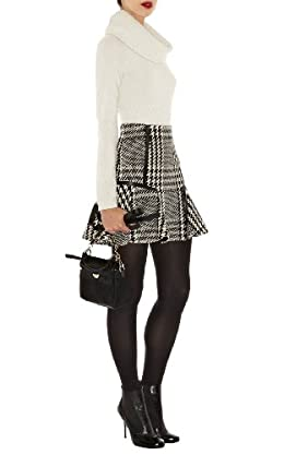Statement Check Skirt