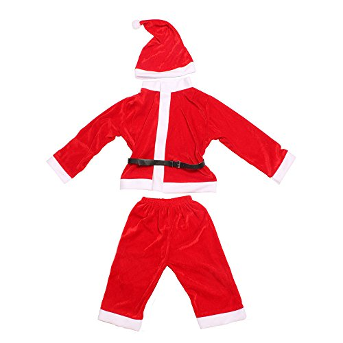 niceeshop(TM) Baby Boys Kids Christmas Santa Claus Costume Outfit with Hat