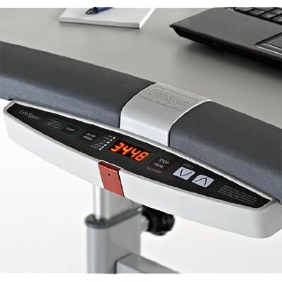 Easy access treadmill controls