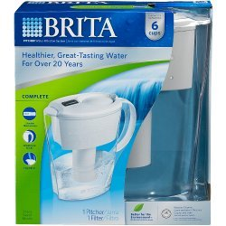 (Package Of 5) Brita OB21 Space Saver Water Filter Pitcher 35250
