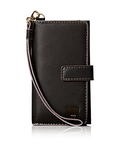 LODIS Women's Mill Valley RFID Cassie Cell Case Wristlet, Black