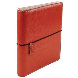 Wilson Jones Cut and Sewn Binder, Round Rings, 1 Inch, Brick Red (W31903)