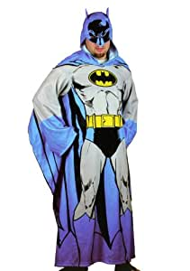 Batman Hooded Cozy Blanket with Sleeves