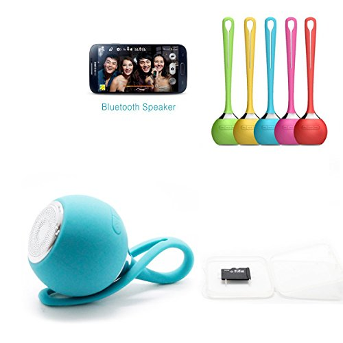 Mopo 高品質 Bluetooth4.0 ワイヤレス 防水 防滴 耐衝撃 スピーカー かわいい おしゃれ ブルートゥース iPhone iPad スマートフォン対応 小型なポー タブルスピーカー アウトドア/お風呂に/キッチン/洗面所/景品/贈り物 (ブルー)
