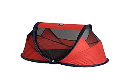 Travel Cot Baby Luxe (Red) from Deryan