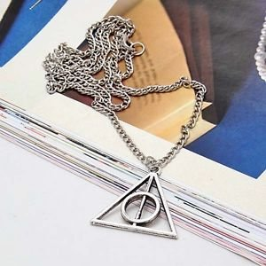 Harry Potter Collection 2014 New Harry Potter DEATHLY HALLOWS NECKLACE Wizarding World Gift COSPLAY - Great Value (Deathly Hallows Merchandise compare prices)
