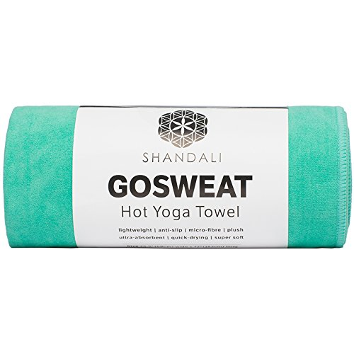 Microfiber, Skidless Yoga Towel,