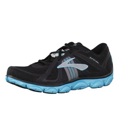 Brooks PureFlow Running Shoes Color: AngelBlu/Slvr/Blk Size: 6.5 Womens