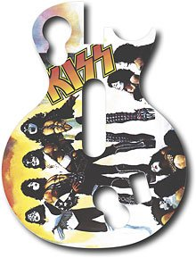 Guitar Hero Faceplate -- Kiss -- Playstation 3 and Xbox 360 (Les Paul Controller)
