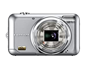 Fujifilm FinePix JZ300 12 MP Digital Camera with 10x Wide Angle Optical Zoom and 2.7-Inch LCD (Silver)