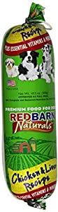 REDBARN PET PRODUCTS 416068 Redb Chicken/Liver Roll Food, Small, 10.5-Ounce (3-Pack)