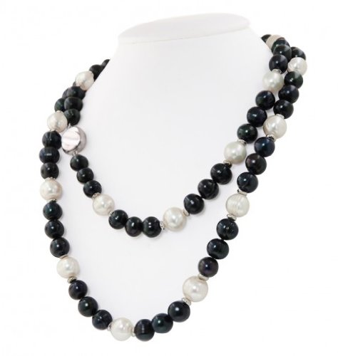 Jet Pearl Necklace
