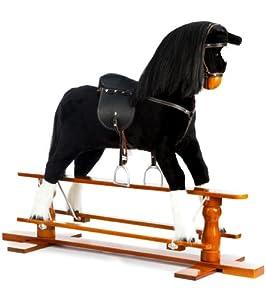 Beautiful Black Rocking Horse - Shadow