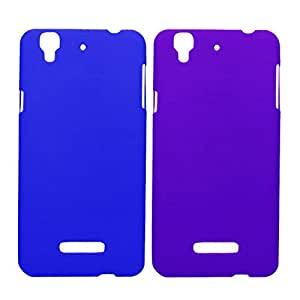2 Pieces Winsome Deal Exclusive Hard Back Cover Case For Micromax Yureka