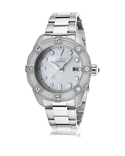 Invicta Women's Invicta-20318 Angel Silver-Tone/White Mop Stainless Steel Watch As You See