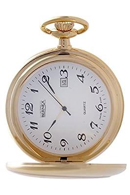 Bernex Pocket Watch GB21114 Gold Plated Full Hunter