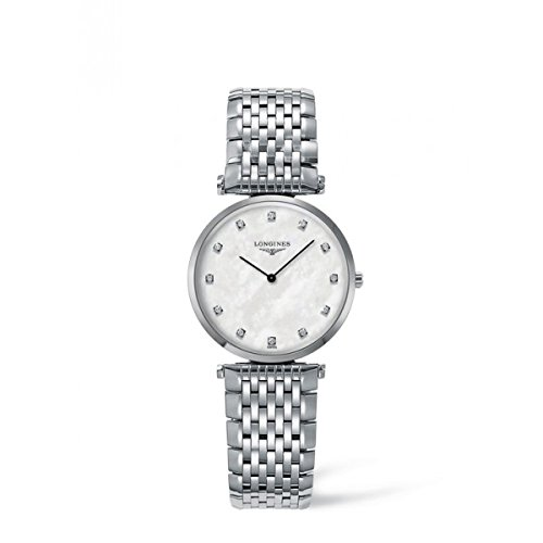 longines-la-grande-classique-womens-quartz-watch-with-mother-of-pearl-dial-analogue-display-and-silv