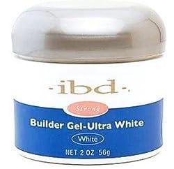IBD 60404 Builder Gel-Ultra, White, 2 Ounce