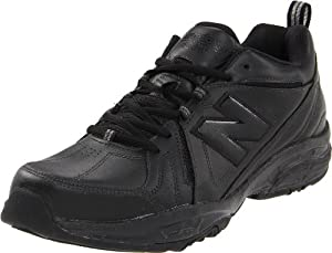 New Balance Men's MX608V3 Cross-Training Shoe,Black,10.5 4E US