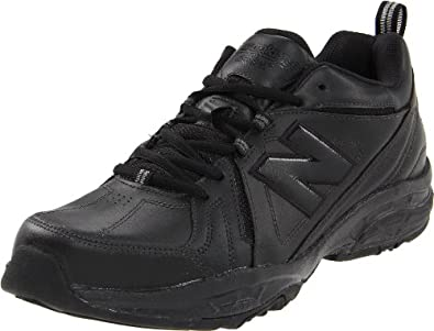 New Balance Men's MX608V3 Cross-Training Shoe,Black,8 2E US