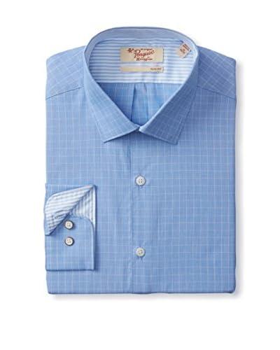 Penguin Men's Slim Fit Check Dress Shirt
