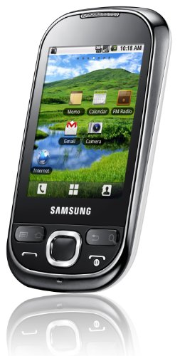 Samsung I5503 Samsung i5500 Corby Galaxy 5 Android Smartphone with Wi-Fi, Bluetooth, GPS, Touch Screen &#8211; No Warranty &#8211; White